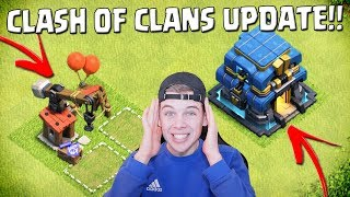 NIEUWE STADHUIS IN CLASH OF CLANS UPDATE!! NEDERLANDS