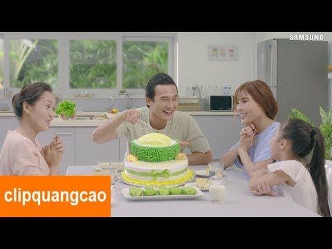 Phim quảng cáo tủ lạnh Samsung mới nhất 2017 | Quảng cáo vui nhộn và hài hước cho bé yêu 2017