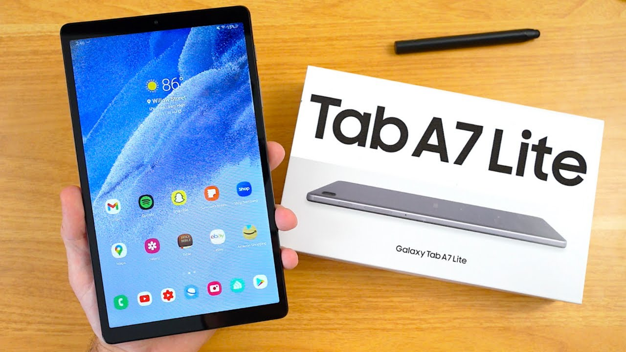 Samsung Galaxy Tab A7 Lite Review: A New Affordable Samsung Tablet
