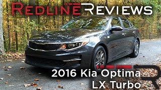 2016 Kia Optima LX Turbo – Redline: Review