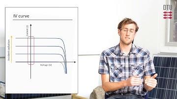 Efficiency of solar cells - Measurements