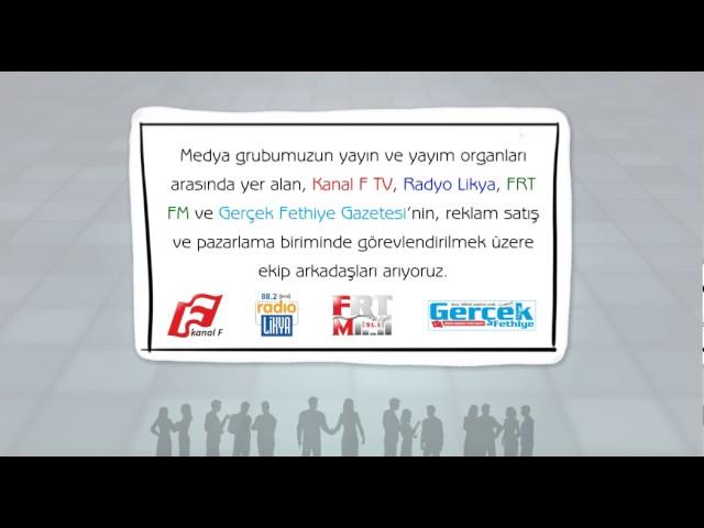 Kanal F TV eleman ilanı