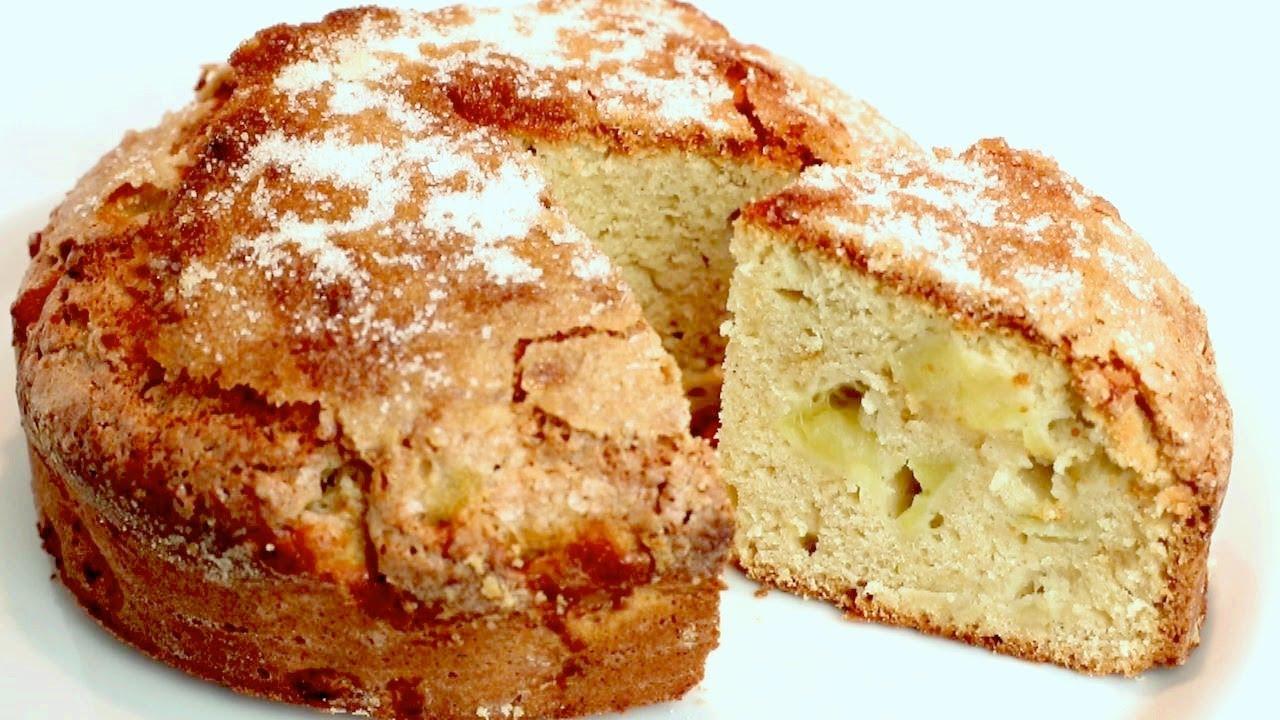 La più semplice e deliziosa TORTA DI MELE  per l'autunno! E' pronto il té?  #389