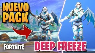 *NEW* FORTNITE PACK - DEEP FREEZE FROSTBITE SKIN + PICO + PLANER + 1000 PAVOS