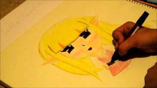 Zelda Speed Drawing- Chibi