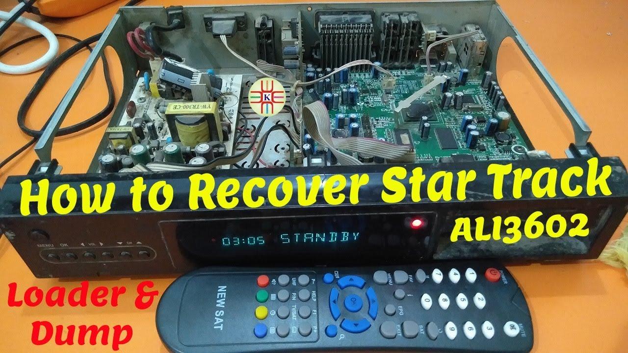 How to Recover Original Star Track Digital HD Satellite Receiver