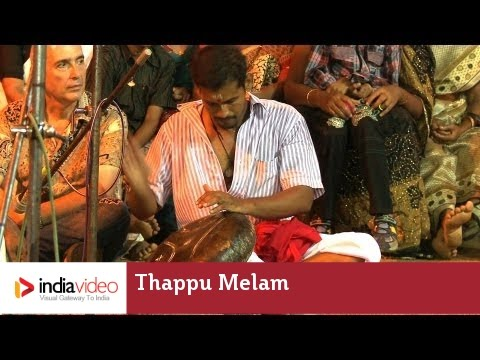 Thappu Melam: the drum symphony of Padayani