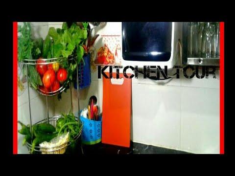 Indian Kitchen Tour Kitchentour Indian Small Kitchen Tour Indian Kitchen Organization Ideas