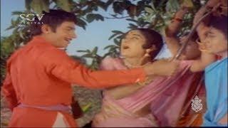 ನೀನು ಗಂಡ್ಸು ಆಗಿದ್ರೆ, ನೀ ಹೇಳಿದ ಕೆಲ್ಸ ಮಾಡು ತೋರ್ಸು ನೋಡೋಣ | Dr Rajkumar Best Scenes | Manjula |Vajramuni