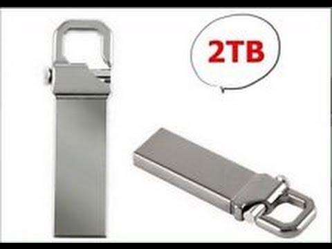 2 TB - 2 TERABYTE USB PENDRIVE!! CHIAVETTA USB DA 2000 GIGABYTE