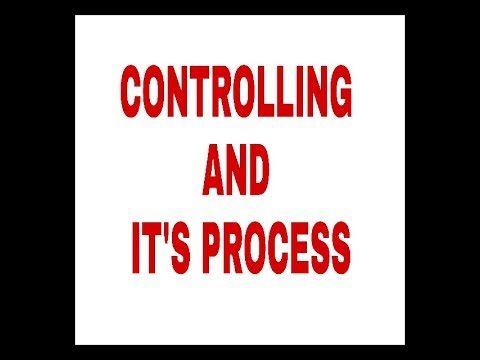 Controlling and its process