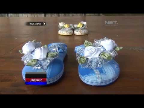 Membuat Sandal Pita Menggunakan Kain Perca   Doovi