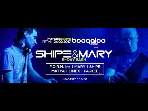 Fajkee @ Boogaloo Zagreb  , Shipe and Mary Bday Bash 24.02.2017