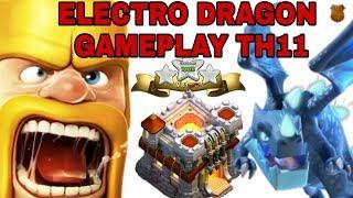 TH11 ELECTRO DRAGON || 3 STAR ATTACK STRATEGY  🔥🔥🔥