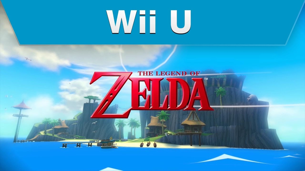 wii u the legend of zelda the wind waker hd e3 trailer youtube