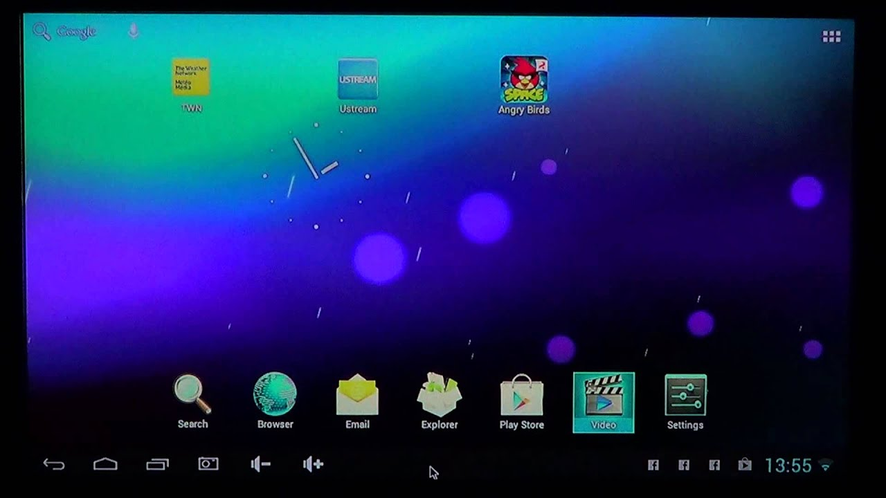how to get to kodi home screen apps section
