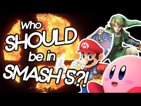 Who SHOULD be in SMASH 5?! (PREDICTION LIST) - Part 1
