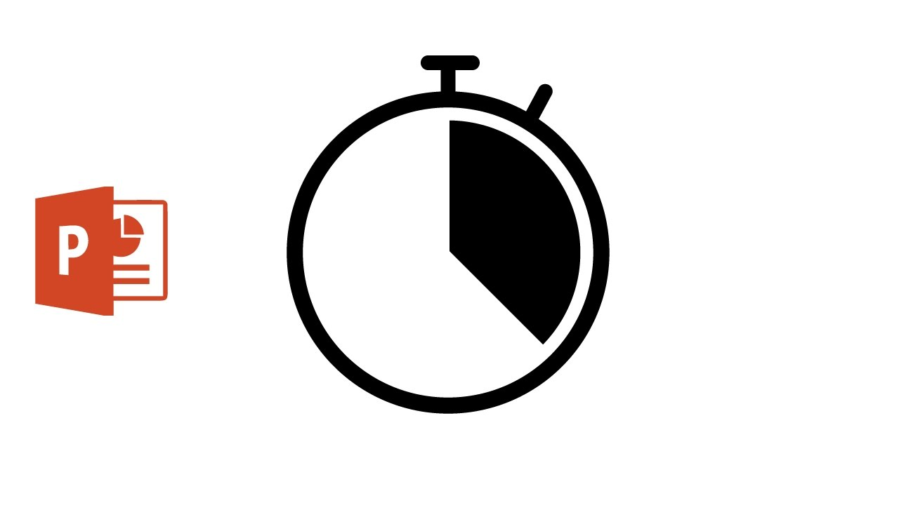 Animate Timer icon using Microsoft PowerPoint 2016
