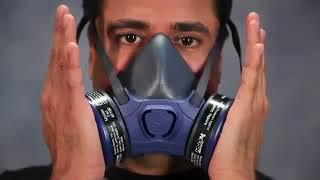 Reusable Half Mask Respirator Training Moldex 7000