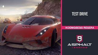 KOENIGSEGG REGERA - TEST DRIVE | ASPHALT 9