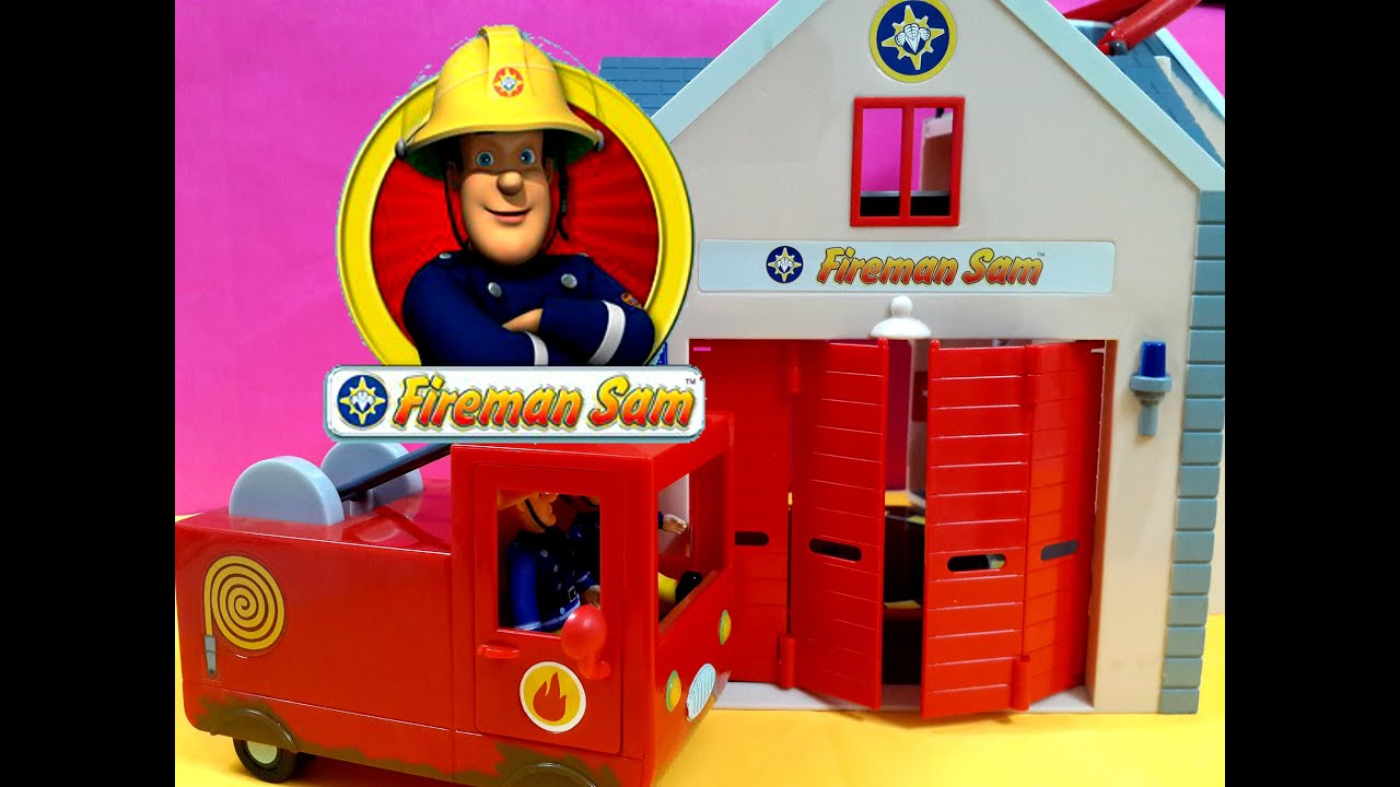 Fireman Sam english Episodes full Fire station Playset Toys