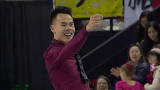 Нам Нгуен. Произвольная программа. Мужчины. Skate Canada. Гран-при по фигурному катанию 2019/20