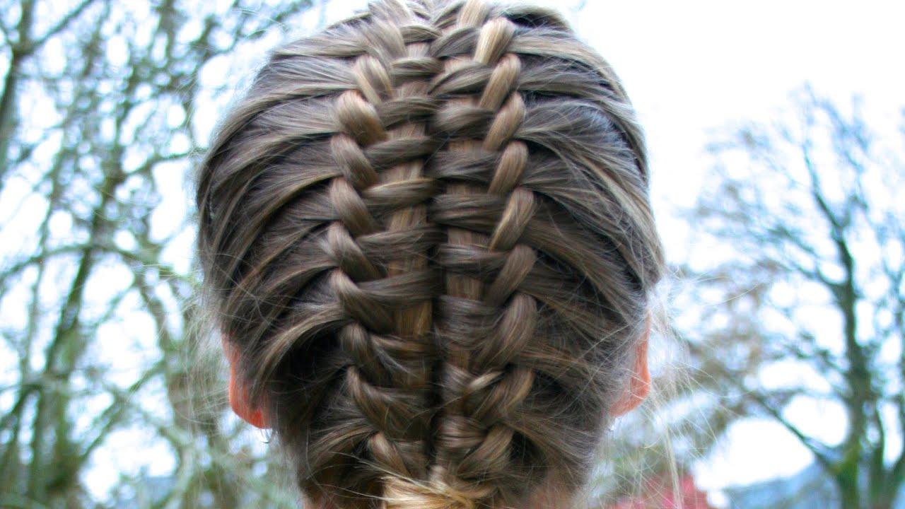 suspended infinty braid tutorial