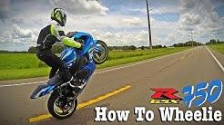 How To Wheelie a GSXR 750