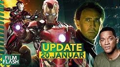 National Treasure 3 | Iron Man Nachfolgerin | Bad Boys 4 | Studio Ghibli bei Netflix | FilmUpdate