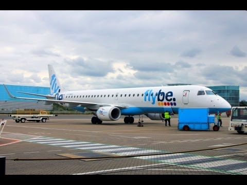 Flybe Embraer E195 SOU-EDI flight experience