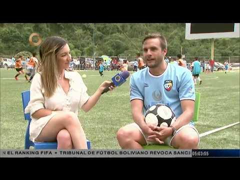 Academia Euroamericana de Fútbol culmina tryouts en Caracas (PARTE 1/3)