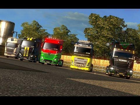 Euro Truck Simulator 2 MP - Angliai Convoy Cooltúra