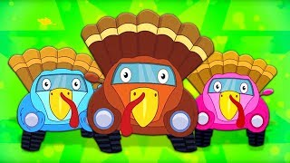Let's Give Thanks | Thanksgiving Song | Gobble Gobble Turkey Song | Nursery Rhymes for Toddlers