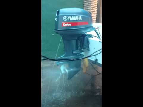 Motor Yamaha 40 Hp Enduro Youtube