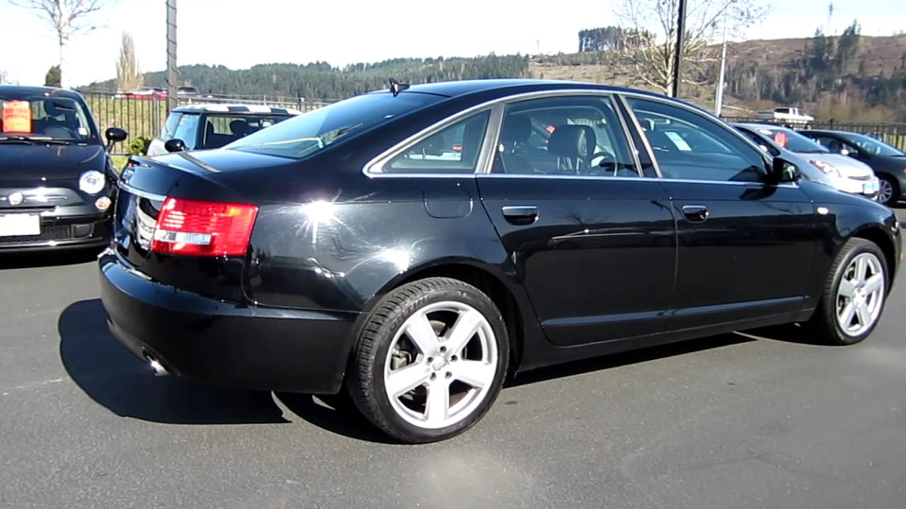 2008 Audi A6 3.2, black - Stock# H2046 - Walk around - YouTube  Audi A Black on 07 dodge 3500 black, 07 acura mdx black, 07 chevy malibu black, 07 dodge charger black, 07 jeep compass black, 07 hummer h2 black, 07 dodge nitro black, 07 chevy avalanche black, 07 ford fusion black, 07 honda accord black, 07 cadillac srx black,