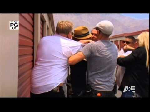 Storage wars dan dotson amp dave hester brawl youtube