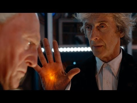 The First Doctor Enters The Twelfth Doctors TARDIS  Christmas Special Preview  Doctor Who  BBC