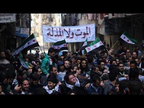 الناشط الإعلامي مصطفى النعيمي: المظاهرات خرجت رفضاً لإعادة نصب تمثال حافظ الاسد في درعا