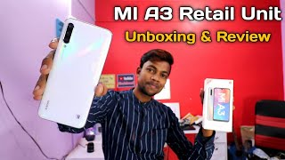 Mi A3 Retail Unit Unboxing & Review (IN HINDI)