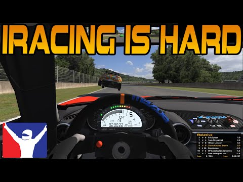 iRacing THIS GAME IS HARD