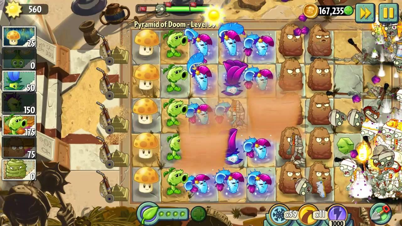 Plants vs  Zombies 2: best plant combination 2