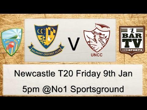 2014/15 Newcastle District Cricket T20 - Belmont v University