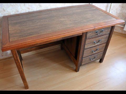 Письменный стол своими руками 2 часть