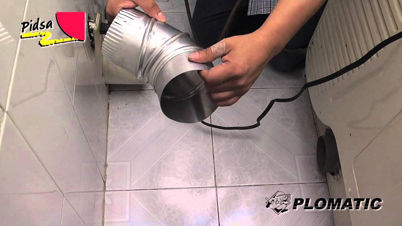 Cómo instalar el Codo Ajustable para Ducto de Secadora - YouTube