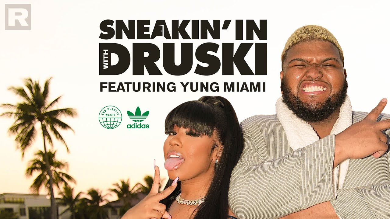 Download Druski stops by Yung Miami's crib for a fun lesson on sustainability | Sneakin' In With Druski