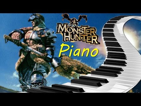 Monster Hunter Tri - To One With Life 【Two Pianos Cover】 【17k Special】