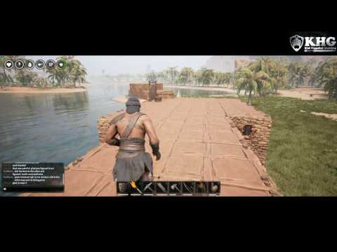 Conan Exiles - Super Coal, Iron mining spot! See Time Stamps!