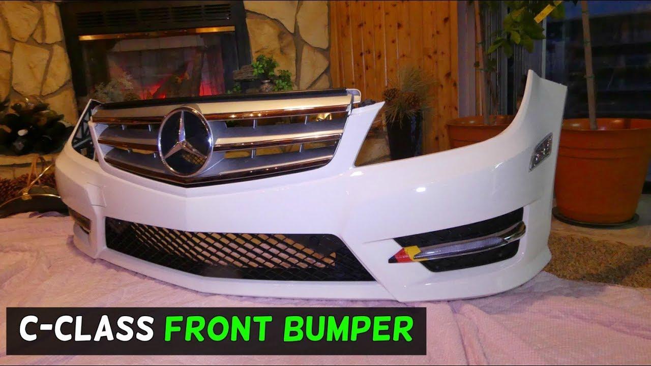 mercedes w204 front bumper assembly c250 c300 c350 c200 c220 c260 c280