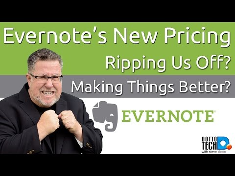 Evernote's New Pricing Good Deal? Bad Deal?