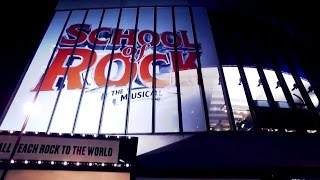 Now playing at the New London Theatre | SCHOOL OF ROCK: The Musical